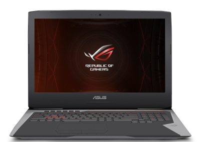 ASUS ROG G752VS OC Edition frontview