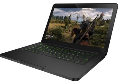 RAZER BLADE QHD TOUCHSCREEN GAMING LAPTOP witcher 3