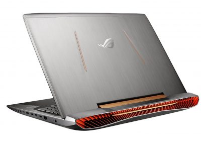 ASUS ROG G752VS OC Edition exhaust